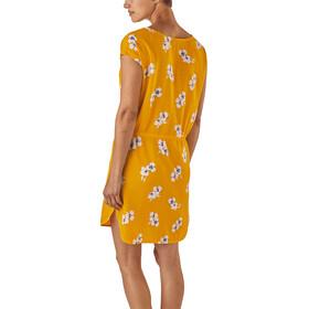 Patagonia June Lake Dress Women Mariposa Lily: Rugby Yellow